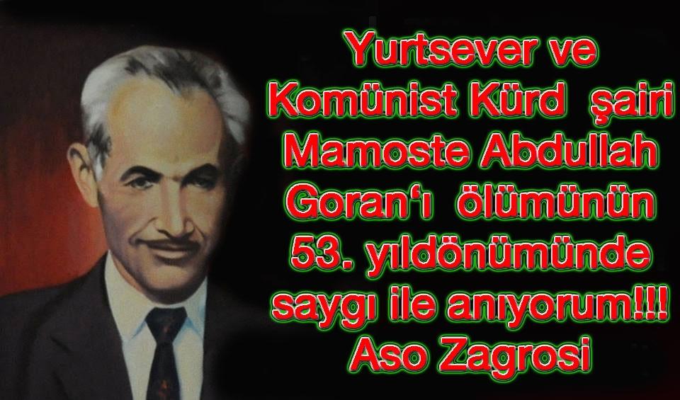Kürd, Türk, Arap, Fars Kardeşliği ve Mamoste Goran