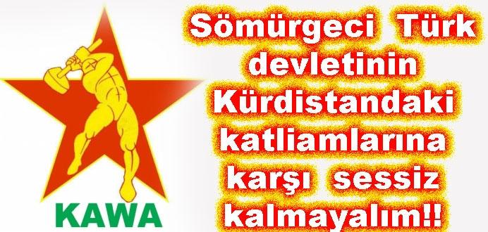 Kürdistan'daki Soykırıma Sessiz Kalma!