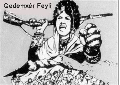 Kürd Ulusal Kahraman Kadını Qedemxêr Feylî Üzerine